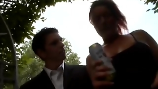 Germanstreets Com, German, Public, Reality, Amateur, Redhead, Big Boobs, Facial, Blowjob, Cumshot, Outdoor