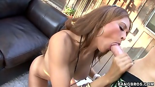 Brunette Chica Monique Fuentes Is Never Enough And Takes