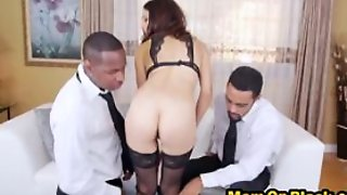Brutal Mom Taking In A Thick Long Bbc While Sucking Ano