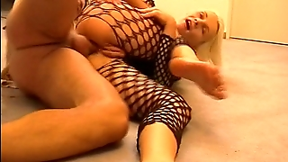 Fucked In The Ass While Wearing Fishnet  (Clip)