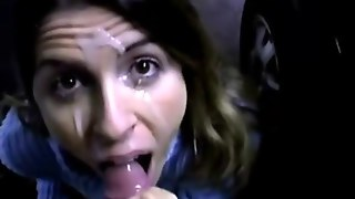 Milf Gives Head At The Parking Lot Film