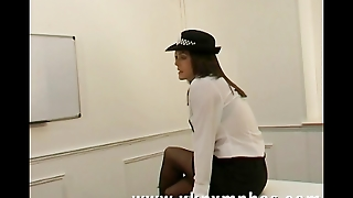 English Police Woman Seduces A Crime Victim