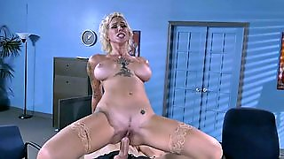 Harlow Harrison Rides Her Boss's Hard Rod In The Office