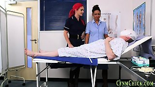 Uniformed Brit Nurses