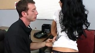 Busty Student Double Creampie