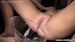 Gangbang Creampie Pussys Drip With Lots Of Cumshots