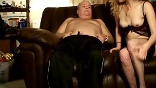 Old Man, Blowjob, Webcam, Small Tits, Amateur