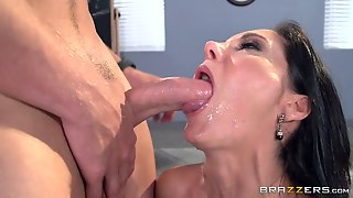 Teacher With Big Boobs Gets Fucked By A Horny Student