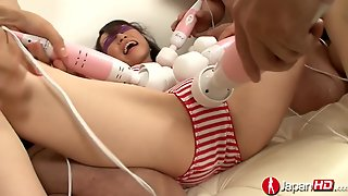 Japanese Vibrator Gangbang Squirting Fountain
