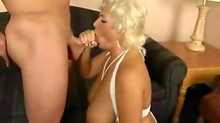 Mature Blonde With Big Tits Video