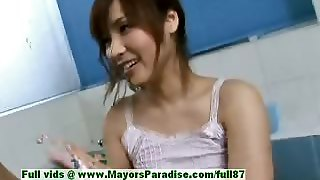 Nao Ayukawa Innocent Naughty Asian Girl Gives Head In The
