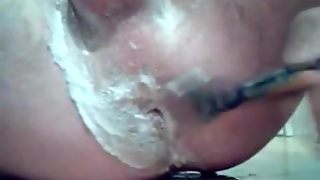 Shaving My Balls And Ass