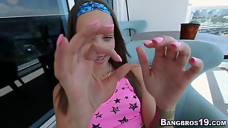 Amateur Teen In Braces