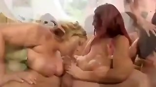 Busty Bbw Bitches Group Sex