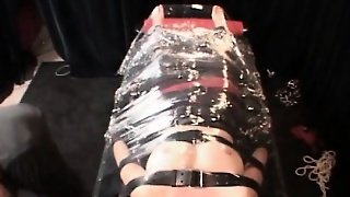 Gagged Bdsm Amateur Hoe Teased With Nipples Clipping