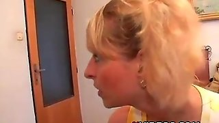 Blonde Fucked By Old Man