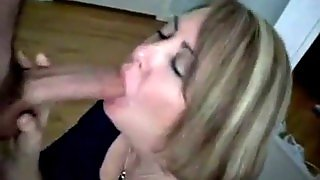 Short Haired Milf Great Blowjob
