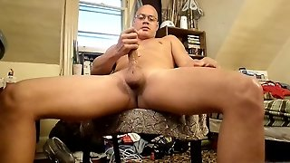 Man, Latino, Horny, Shaved, Solo Male, Home Alone, Hd