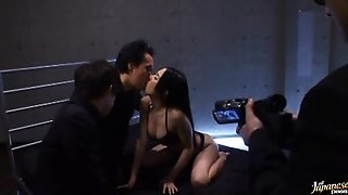 Sora Aoi Has Amazing Threesome Mmf Sex And Gets A Facial Cumshot