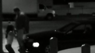 Security Camera Catches Some Hardcore Banging In A Parking Lot