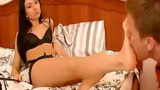 Sasha Rose Foot Worship