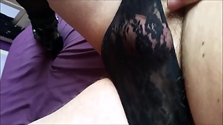 Dick In Panties Cumming Xx