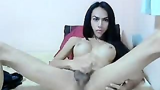 Sexy Tranny With Big Cock