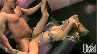 Naughty Whore Jessica Drake Takes Dream Cumshot