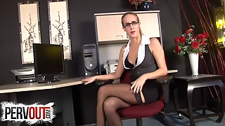 Ball Breaking Boss Cadence Lux Wants To Castrate You