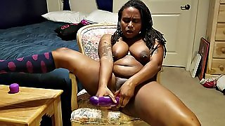 Amateur, Sex Toys, Orgasms, Black And Ebony