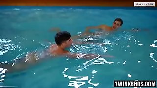 Hot Twinks Anal Riding With Cumshot