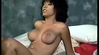 Vintage Porno With Girl In White Lingerie