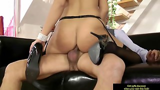 Young Euro Slut Plays With Old Mans Dick
