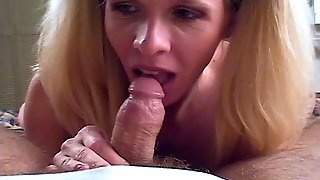 Video From Mytinydick: Ponytail Blonde For Fun