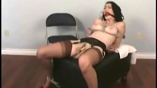 Kinky Girl Spanked In Ass