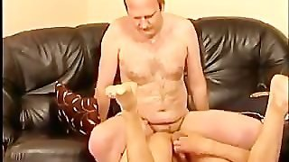 Mature Gay Couple Kissing And Fucking