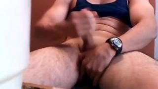 Solo Male, Male Masturbation, Muscle Guy
