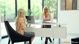 Piper Perri Seduced By Insatiable Babe Nicolette Shea