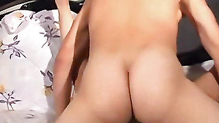Fucked In Anal On A Luxury Bed