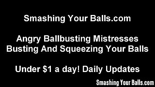 Squeezing Your Balls Until They Bust