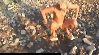 Amateur, Outdoor, Babe, Mature, Beach, Blowjob, Group Sex, Public