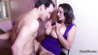 Big Natural Tits Milf Get Her Hairy Puss Fuck Hard