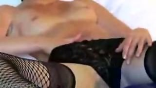 Sexy Brunette Pussy Teasing