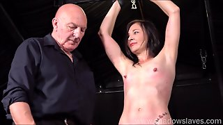 Table Tied Amateur Slave Lolanis Candle Wax