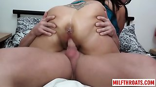 British Mature Blowjob And Cumshot