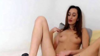 Horny Hot Babe Masturbating Solo Live Cams