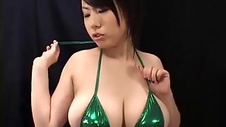 Softcore Asian Plays With Tits