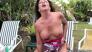 Margo Sullivan With Massive Knockers Is Too Horny To Stop Sucking Her Mans Erect Schlong
