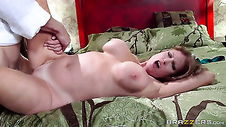 Johnny Sins Plays With Dripping Wet Slit Of Darla Crane With Giant Tits Before He Bangs Her Hard