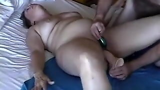 Mature Wife With Toys And Sex